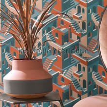 Illusion wallcovering Casadeco Wallpaper creations