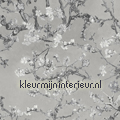 Almond Blossom grey behang Top 15 stijlen