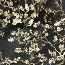Almond Blossom black behang BN Wallcoverings Van Gogh 17145