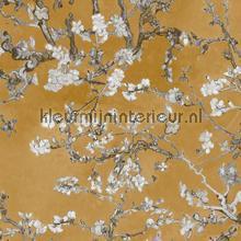 Almond Blossom ochre papier peint BN Wallcoverings Van Gogh 17146