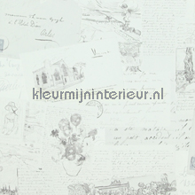 Letters tapet BN Wallcoverings nostalgisk