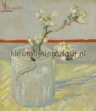 Bloeiend amandeltakje in een glas fotomurali BN Wallcoverings Van Gogh 30549