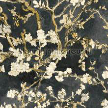 Almond Blossom black papel pintado BN Wallcoverings papel pintado Top 15