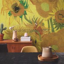 Zonnebloemen Van Gpgh fotobehang BN Wallcoverings Kunst Ambiance