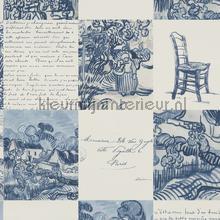 Van Gogh tegelwerk tapet BN Wallcoverings Vintage Gamle