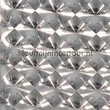 Holografische diagonaal zilver tapet Eijffinger Venue 342090