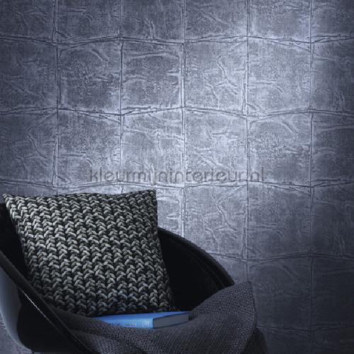 Luxe nonchalant patroon grote blokken behang 806359 Via Trento Rasch