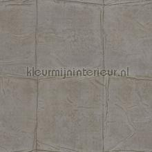 Luxe nonchalant patroon grote blokken tapeten Rasch Via Trento 806366