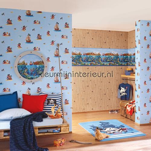 Piraten hout papel de parede 289701 sale wallcovering Rasch