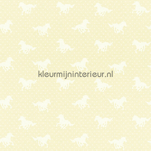 Paardenvriendjes in galop behang 290400 aanbieding behang Rasch
