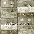 Koffers gestapeld papier peint Esta home Vintage Rules 138213