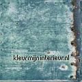 Metaalplaat verroest papier peint Esta home Vintage Rules 138220