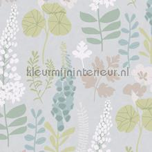 Bloemenveld behang Eijffinger Trendy Hip