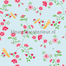 Bird Branches blue tapet Room Seven Wallpaper Collection 2000110