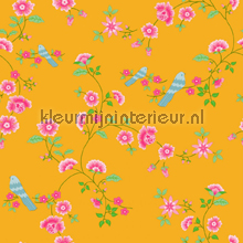 Bird Branches yellow tapet Room Seven Wallpaper Collection 2000115