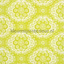 Dentelle green tapet Room Seven Wallpaper Collection 2000131