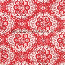 Dentelle red tapet Room Seven Wallpaper Collection 2000133