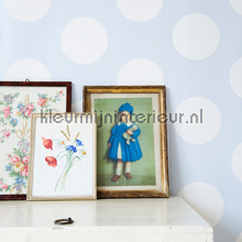 Dots blue tapet Room Seven Wallpaper Collection 2000140