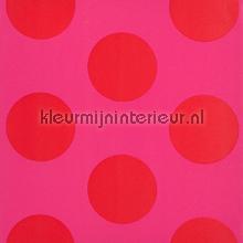 Dots fucsia behang Room Seven romantisch modern