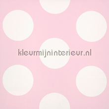 Dots pink reverse tapet Room Seven Wallpaper Collection 2000142