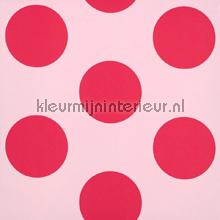 Dots red behang Room Seven romantisch modern