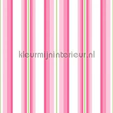 Stripe pink tapet Room Seven Wallpaper Collection 2000171