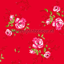 Winter Poppies red papier peint Room Seven Wallpaper Collection 2000183