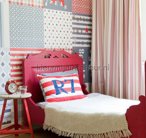 Mural Patchwork Boys photomural 2000192 Wallpaper Collection Room Seven