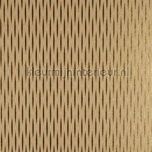 Wave met goudglans en bruin behang Arte Waves WAA1533
