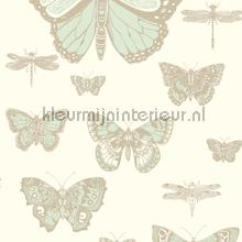 Butterflies & Dragonflies behang Cole and Son Baby Peuter