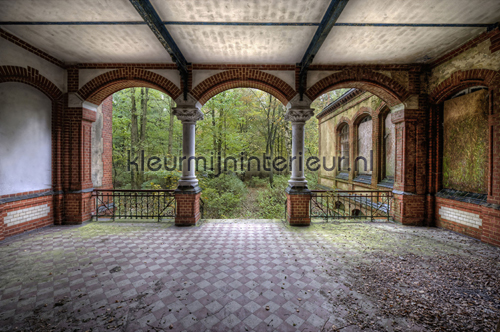 Vintage Villa Terrace photomural 470-281 XXL Wallpaper 2 AS Creation