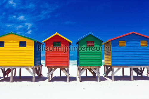Colourful Houses photomural 470-339 XXL Wallpaper 2 AS Creation