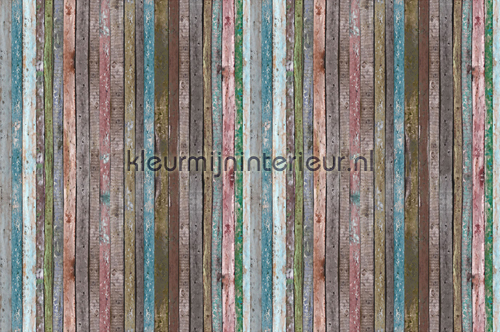 Colorful Wall Boards photomural 470-340 XXL Wallpaper 2 AS Creation