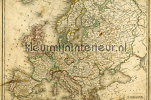 Ancient Map fototapet 470-350 XXL Wallpaper 2 AS Creation