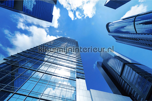 Skyscraper Blue fotobehang 470-380 XXL Wallpaper 2 AS Creation