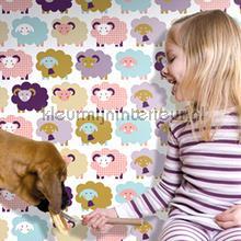 Marketa violet behang Lavmi Baby Peuter