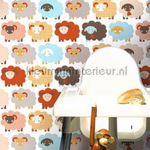 Marketa brown behang Lavmi Baby Peuter