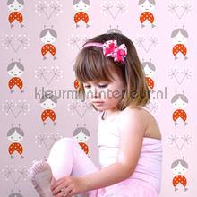 Zofka pink behang Lavmi Baby Peuter