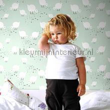 Juli green behang Lavmi Baby Peuter