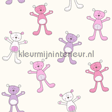 Hoi teddy wallcovering Behang Expresse Puck and Rose YH-17940
