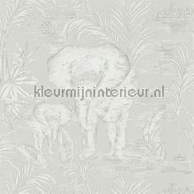 Kinabalu Silver carta da parati Harlequin Zapara 111777