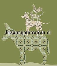 Bremer set links behang Inke Inke behangbeesten