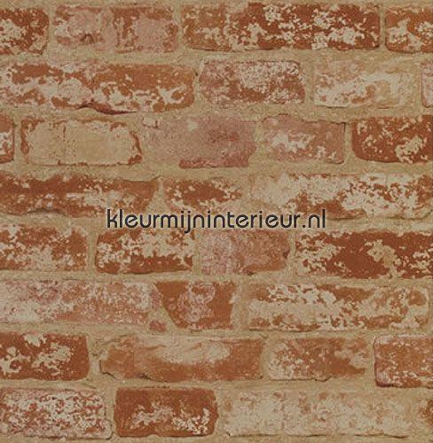 bricks behang BZ9206 hout York Wallcoverings