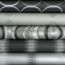 Zilver-Zwart-Grijs behang knutselpakket
