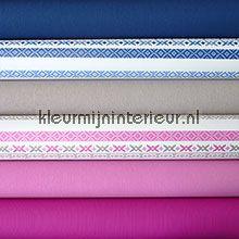 Knutselpakket Bont blauw-roze behang Kleurmijninterieur knutselpakket