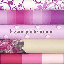 Knutselpakket roze wallcovering wallpaperkit