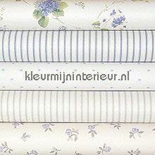 Knutselpakket romantisch blauw-groen wallcovering wallpaperkit