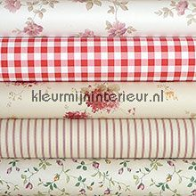 Knutselpakket romantisch rood wallcovering wallpaperkit
