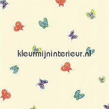 Aquarel vlinderbehang York Wallcoverings behang