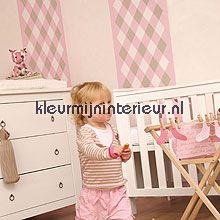 Spencer ruit behang Esta for Kids behang